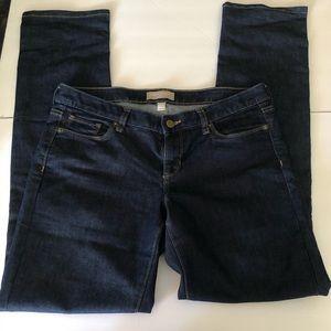 Banana Republic straight leg jeans size 30/10